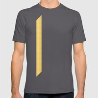 Tagged Gold no11 Mens Fitted Tee Asphalt SMALL
