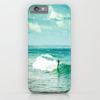 surf iPhone & iPod Cases featuring Surf by Sébastien BOUVIER