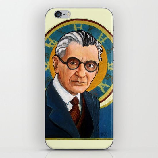 Kurt Gödel iPhone & iPod Skin