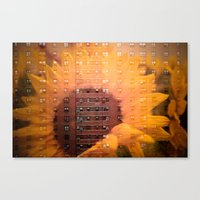 Flowerfull Projects Canvas Print