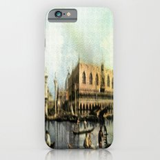 Return of the Bucintoro to the Molo on Ascension Day (Painted in 1729) Slim Case iPhone 6s