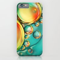iPhone & iPod Case featuring Oil and Water Wave by Sharon Johnstone