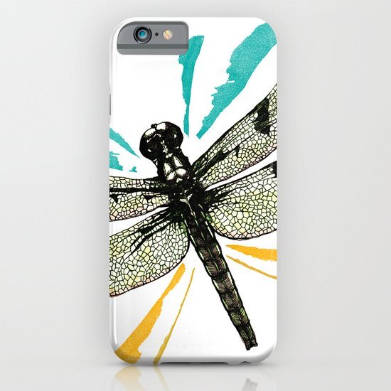 Autumn dragonfly iPhone & iPod Case