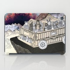 Animals on a Wagon iPad Case
