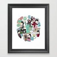 What If I Am In New York… Framed Art Print