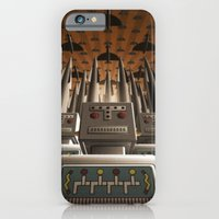 iPhone & iPod Case featuring Robots Unite by Pig's Ear Gear