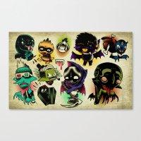 Bloosuckers Canvas Print
