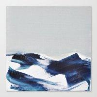 BRUSH STROKES II Canvas Print