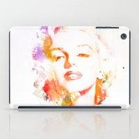 Marilyn Monroe Watercolo… iPad Case