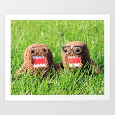 Domo Nation Art Print