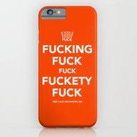 iPhone & iPod Case featuring Fucking Fuck Fuck Fucket… by IIIIStripeIIII