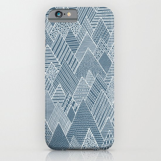 Mountain Pattern iPhone & iPod Case