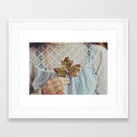 For The Love Of Autumn Framed Art Print