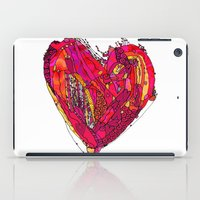 Funky Heart iPad Case