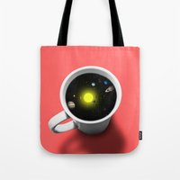Cup Of Universe Tote Bag