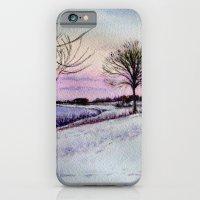 Winter evening in Racine iPhone 6 Slim Case