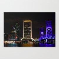 Jacksonville, Florida Canvas Print