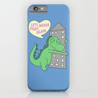 iPhone & iPod Case featuring goodzilla by Christopher