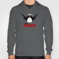 Machine Gun Penguin Hoody