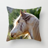Frost The Painted Pony (… Throw Pillow
