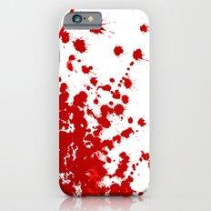 Red Splatter iPhone 6 Slim Case