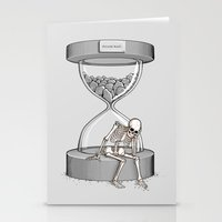 Please wait Stationery Cards
