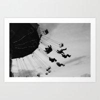 Swing Away Art Print