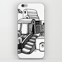 Santorini iPhone & iPod Skin