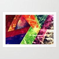 Through Colour Art Print