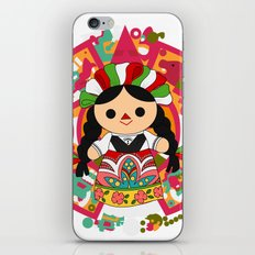 Maria 1 (Mexican Doll) iPhone & iPod Skin