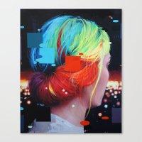 We dissolve Canvas Print