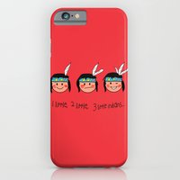 iPhone & iPod Case featuring Red Indian by justang8
