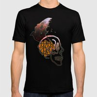 abstract thinking  Mens Fitted Tee Black SMALL
