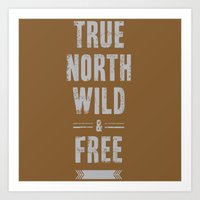 True North Art Print