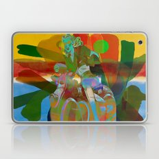 blue races red races green  Laptop & iPad Skin