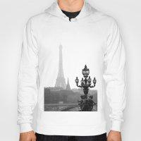 Veiled Eiffel Tower Hoody