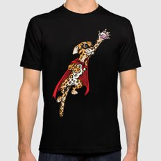 Super Ocelot Mens Fitted Tee Black SMALL