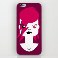 Ziggy Stardust (Bowie) iPhone & iPod Skin
