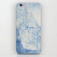 Gum arabic print of rock iPhone & iPod Skin