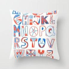 PlayFull Alphabet Throw Pillow