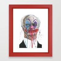 Bozo Framed Art Print