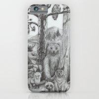 Woodland Friends iPhone 6 Slim Case