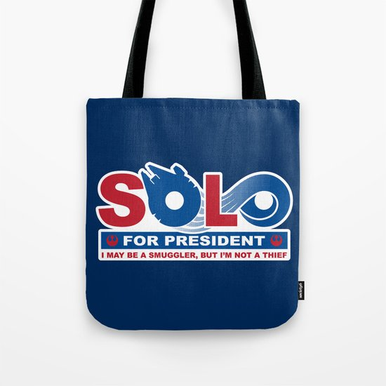 Solo for President Tote Bag