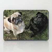 Two Cute Pugs . . .  We are Gorgeous and we Know It! iPad Case