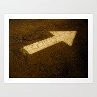 This way Art Print