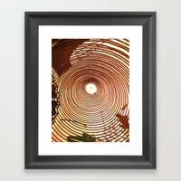Incense Rings Framed Art Print