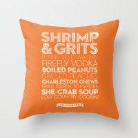 Charleston — Delicious… Throw Pillow