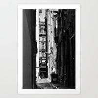Glasgow architecture Art Print