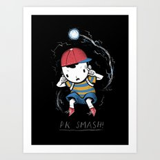 pk smash Art Print