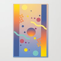 Graphic Abstraction Canvas Print